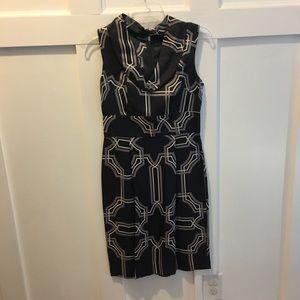 Cowl Neck Silk Banana Republic Dress